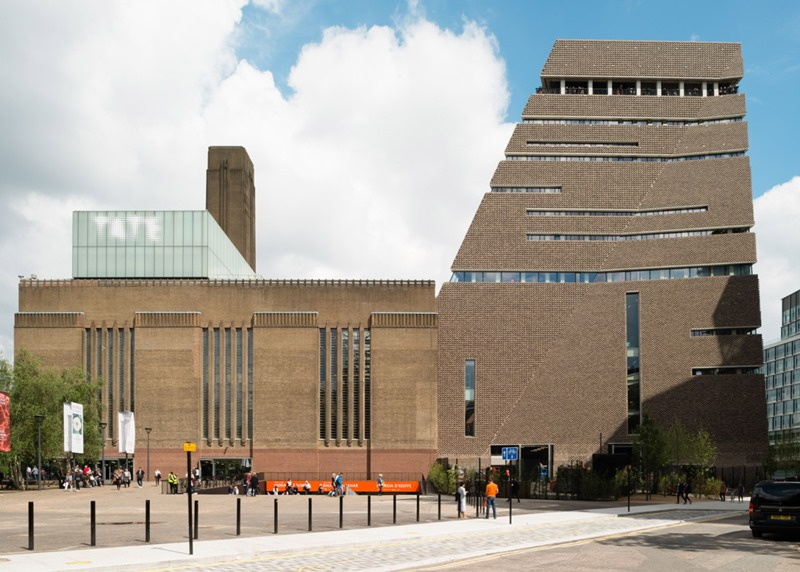 Tate Modern Londres. Arquitectos Herzog & De Meuron © Fotografía Jim Stephenson.