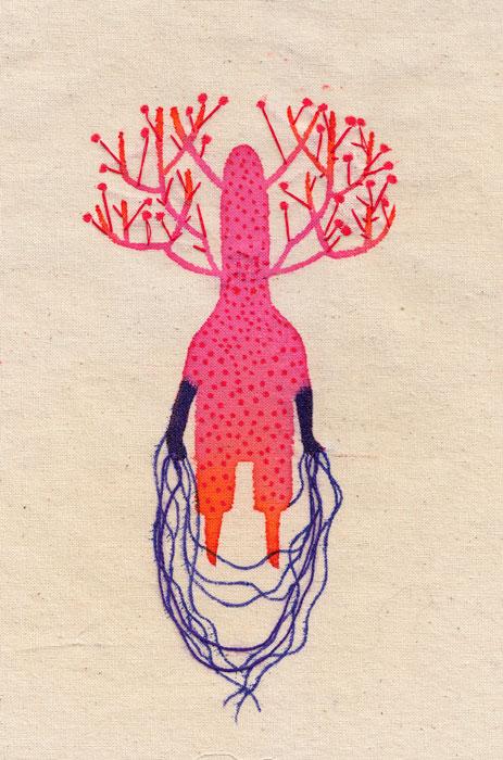 """Ilustración de Alejandra Acosta en """"Cosmotheoros"""""""