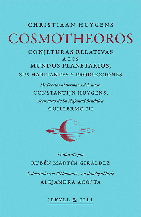 Cosmotheoros. Christiaan Huygens