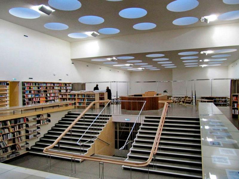 Alvar Aalto. Biblioteca Municipal de Viipuri, 1930-1935.