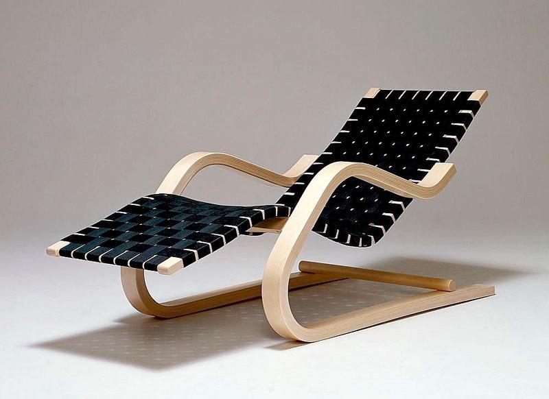 Alvar Aalto. Chaise-longue 43, 1936.