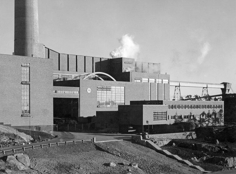 Alvar Aalto. Fábrica de celulosa en Sunila, 1937-1939