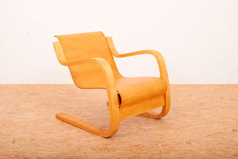 Alvar Aalto. Silla cantilever nº 31. 1930
