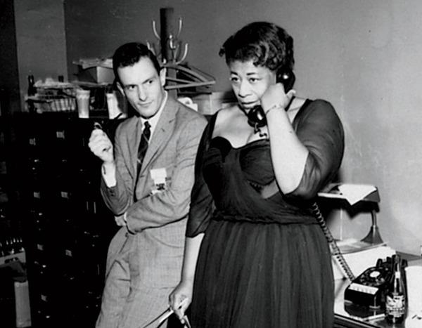 Hugh Hefner y Ella Fitzgerald-el hype