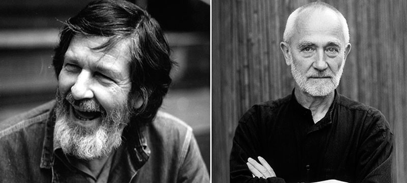 John Cage y Peter Zumthor.