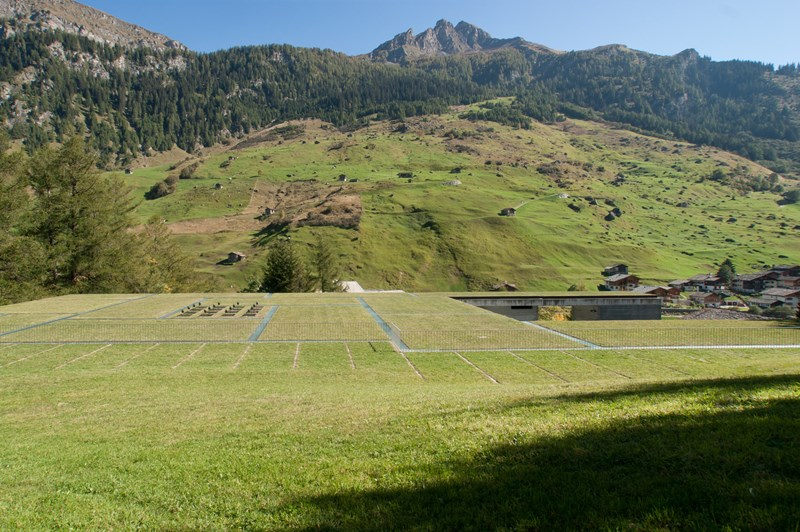 Termas de Vals (Suiza), Peter Zumthor arquitecto. © Fotografía Felipe Camus.