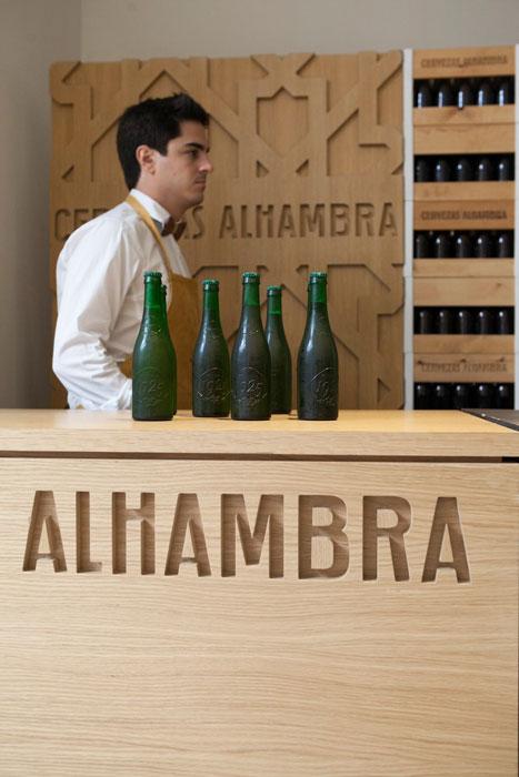Cata de Cervezas Alhambra, Taller de los sentidos. Foto: D.Poliakoff
