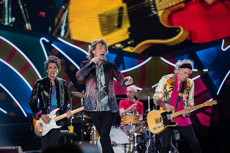 """Los Rolling Stones, en una imagen de su gira """"No Filter""""."""