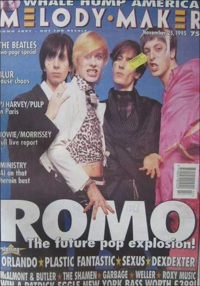 Melody Maker. ROMO