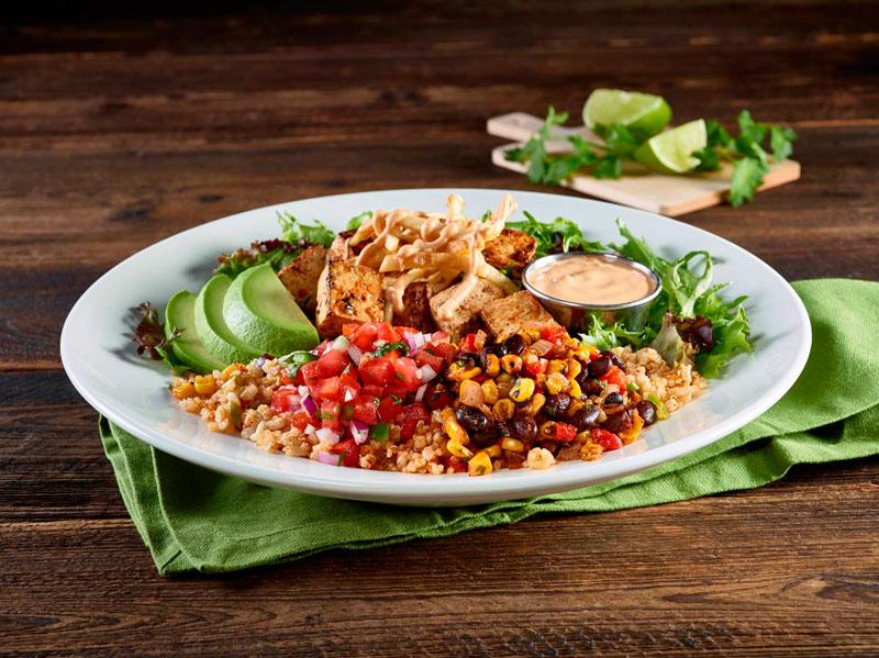 El Southwest bowl es parte de la oferta del Mes de Concienciación Vegetariana