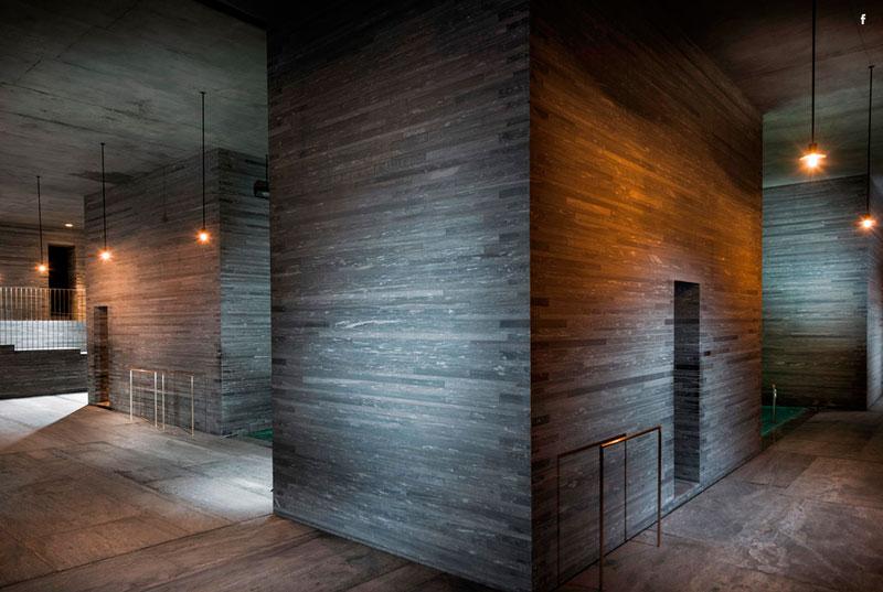 Termas de Vals (Suiza), Peter Zumthor arquitecto. © Cortesía Peter Zumthor.