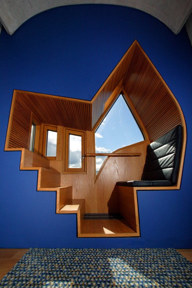 Detalle interior de ventana tipo Bay Window © Scottish Parliamentary Corporate Body 2012.