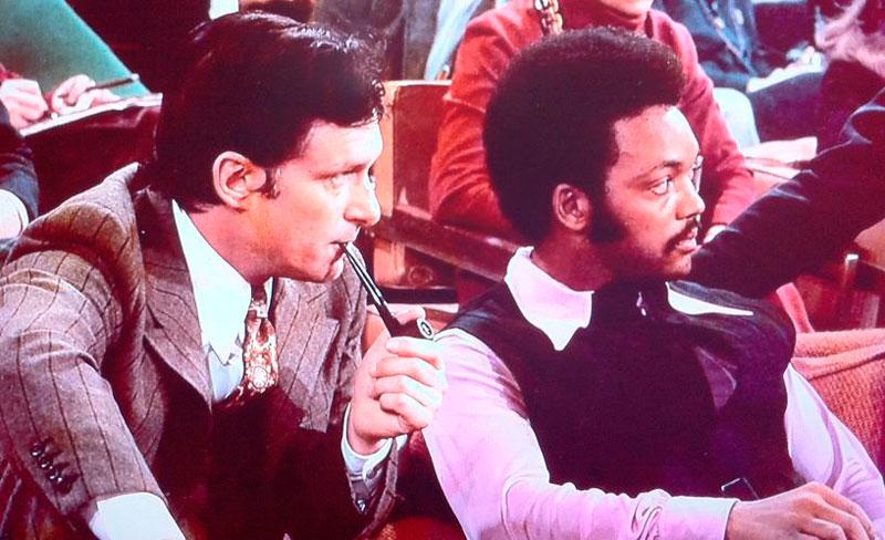Hugh Hefner & Jesse Jackson. Playboy