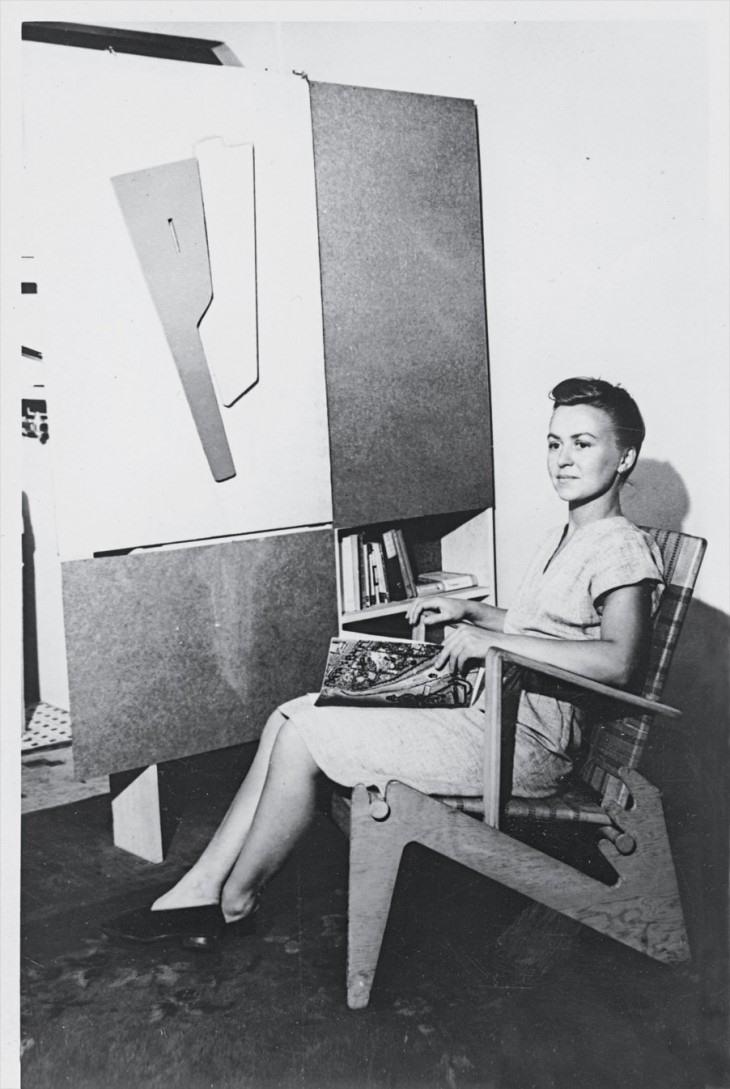 Anne Tyng arquitecta. La estratega geométrica de Louis Kahn.