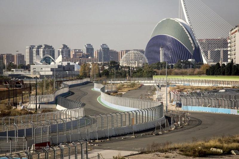 Circuito urbano de la Fórmula 1, Valencia.