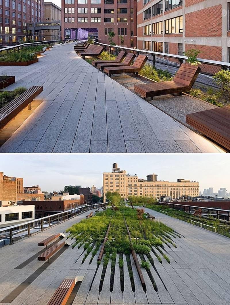 Elisabeth Diller y Ricardo Scofidio, arquitectos. High Line de Nueva York. © Fotografía Iwan Baan.