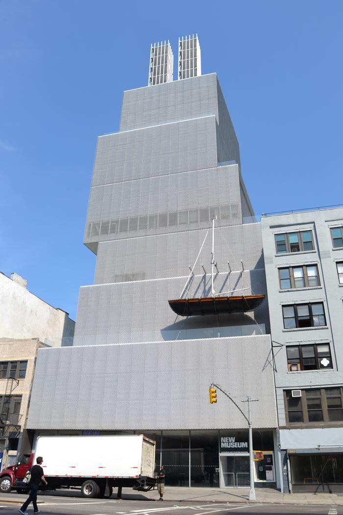 SANAA, arquitectos. Nuevo Museo de arte moderno de Nueva York. © Fotografía SJLL.