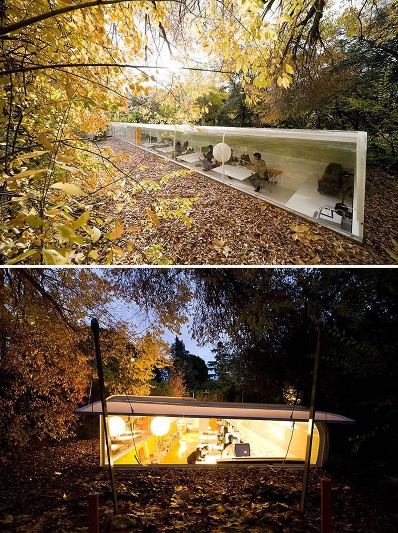 Oficinas de los arquitectos Selgascano en Madrid. © Fotografía Iwan Baan.