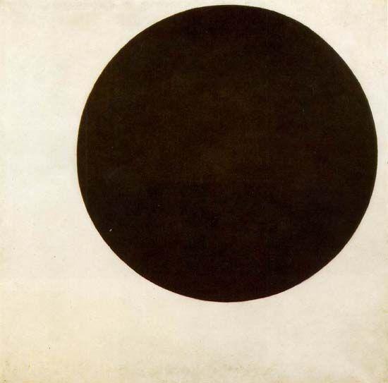 Círculo negro, Malévich, 1915