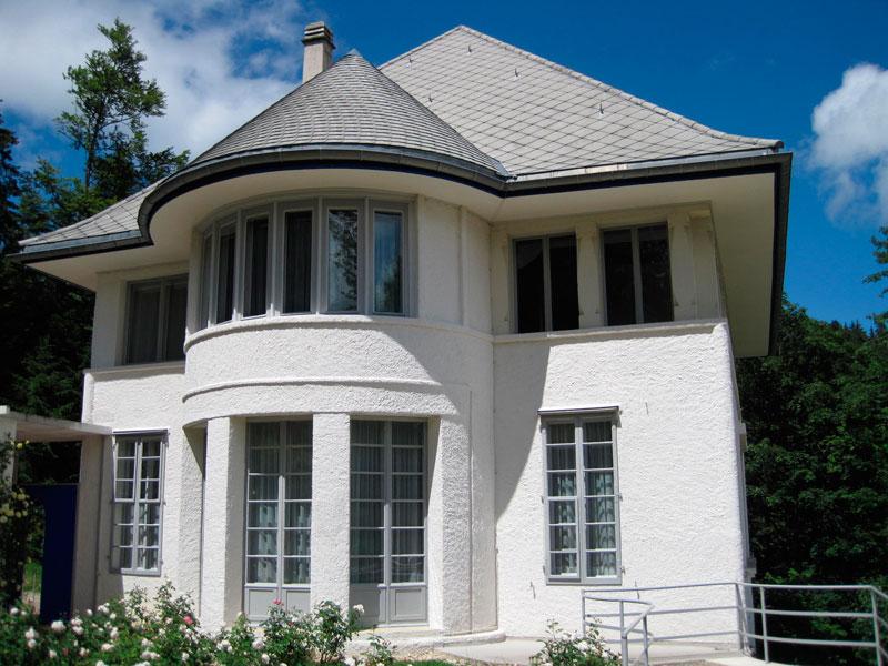 Casa Blanca, Chaux-de-Fonds, 1912.