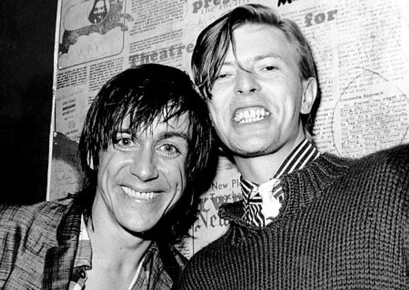 Iggy Pop y David Bowie