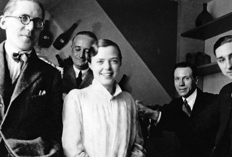 Le Corbusier y Charlotte Perriand.