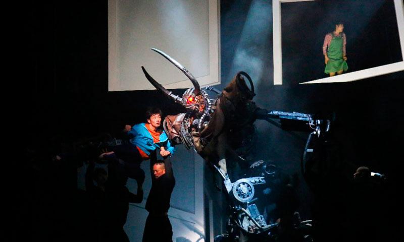 """""""Pluto"""". Bunkamura. Dirigida y coreografiada por Sidi Larbi Cherkaoui"""