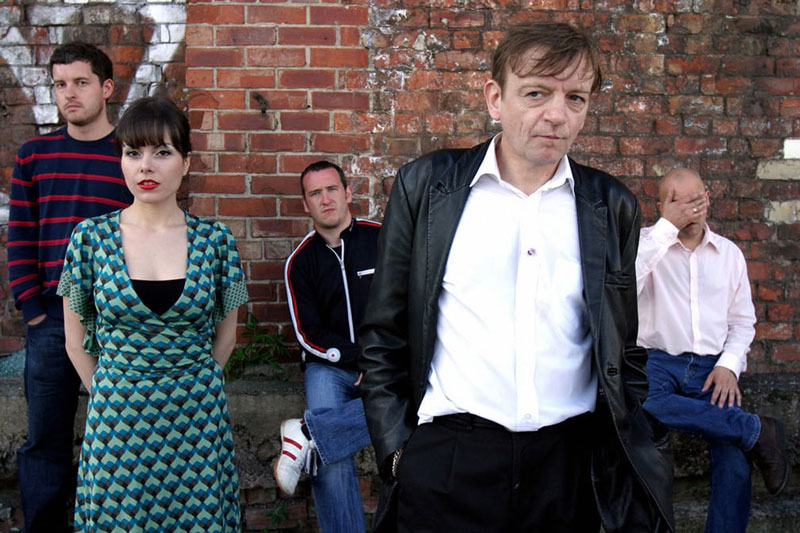 "Mark E. Smith. ""The Fall"""