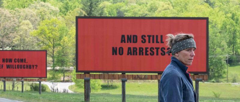 Tres anuncios en las afueras (Martin McDonagh, 2017)
