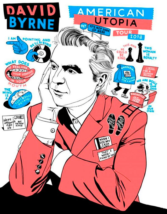 """American Utopia"". David Byrne"