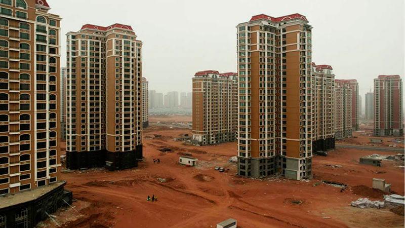 Ciudad fantasma de Kangbashi (China)
