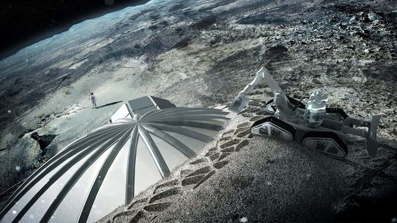 © Lunar Habitation, Foster + Partners.
