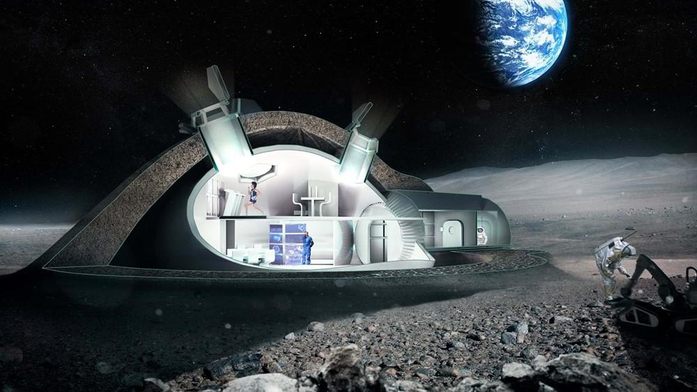 Viviendas de ciencia-ficción