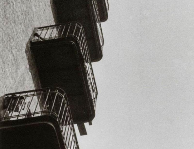 """Balcones"", 1925. Archivo-Lafuente. ""La perspectiva de Ródchenko"". IVAM"