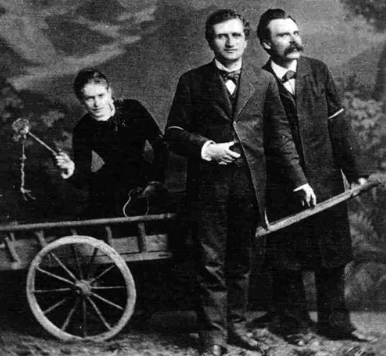 Lou Andreas Salome y Friedrich Nietzsche