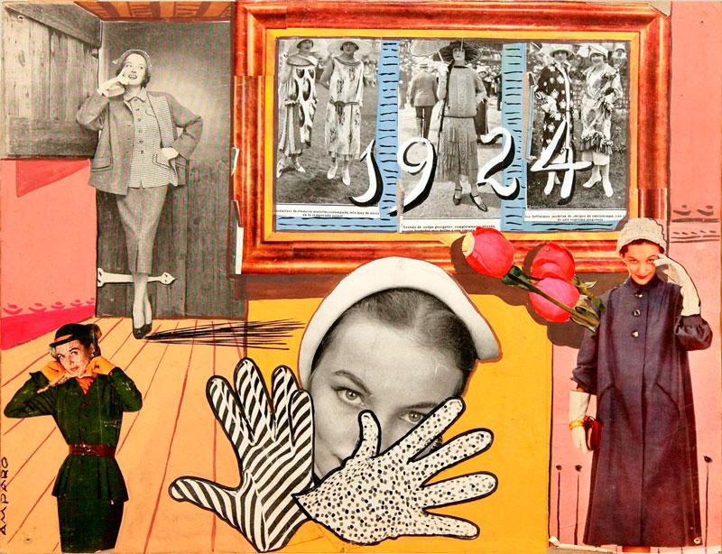 1924, Puerto Rico, 1952. Eugenio Granell y Amparo Segarra. Col. Fundación Eugenio Granell