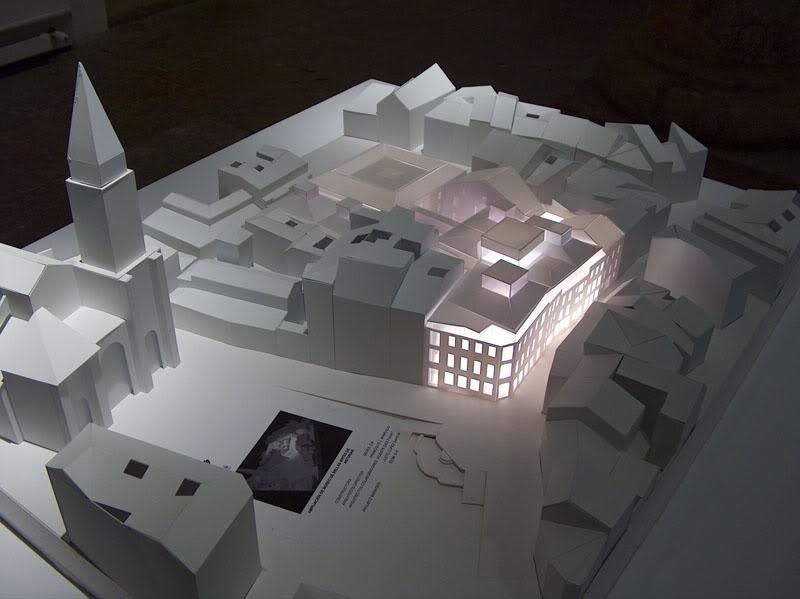 Ampliación del Museo de Bellas Artes, Oviedo. Arquitecto Francisco Mangado.