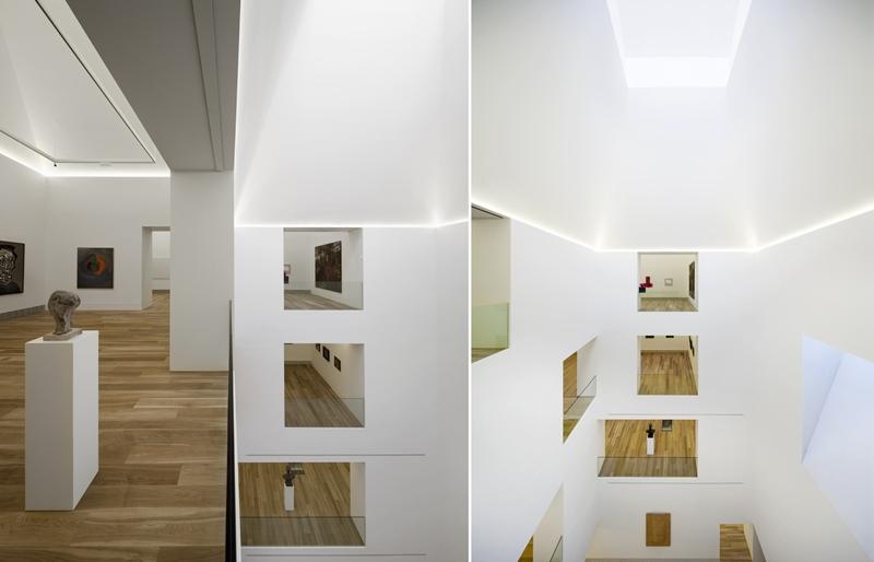 Ampliación del Museo de Bellas Artes, Oviedo. Arquitecto Francisco Mangado. © Fotografía Pedro Pegenaute.