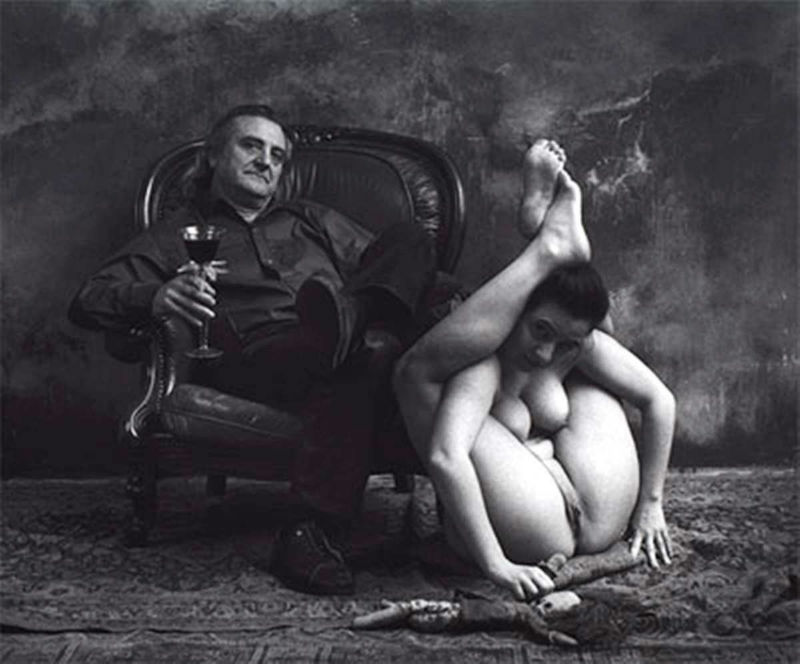 Jan Saudek: The Portrait of famous man - Borek Sipek, 2001