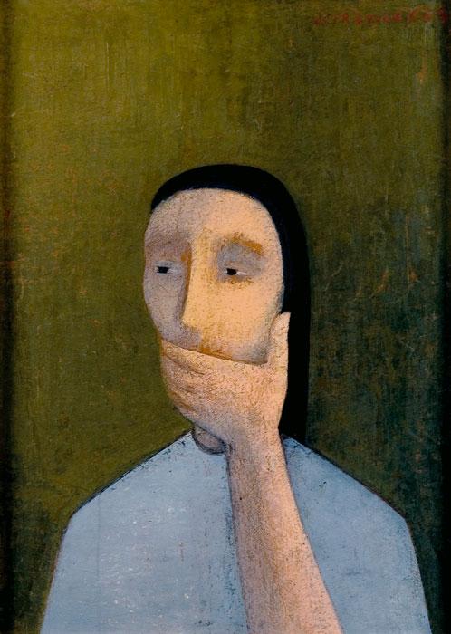Silencio, 1953. Juana Francés. Colección Candela Álvarez Soldevilla