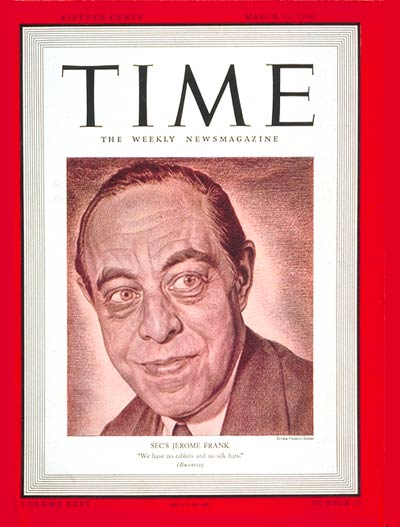Jerome Frank. Revista Time