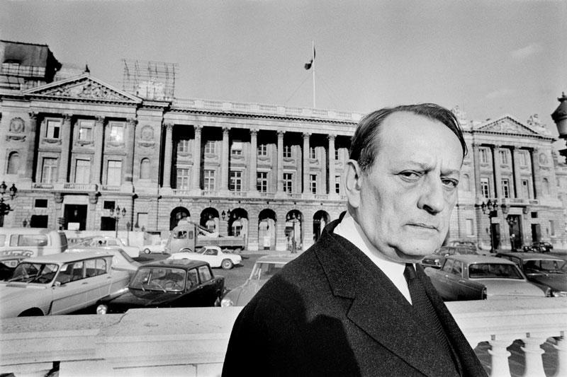 André Malraux, 1969. Foto: Raymond Depardon.