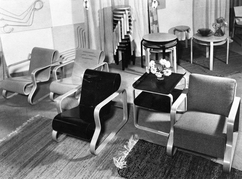 Sillón Paimio diseñado por Alvar Aalto.