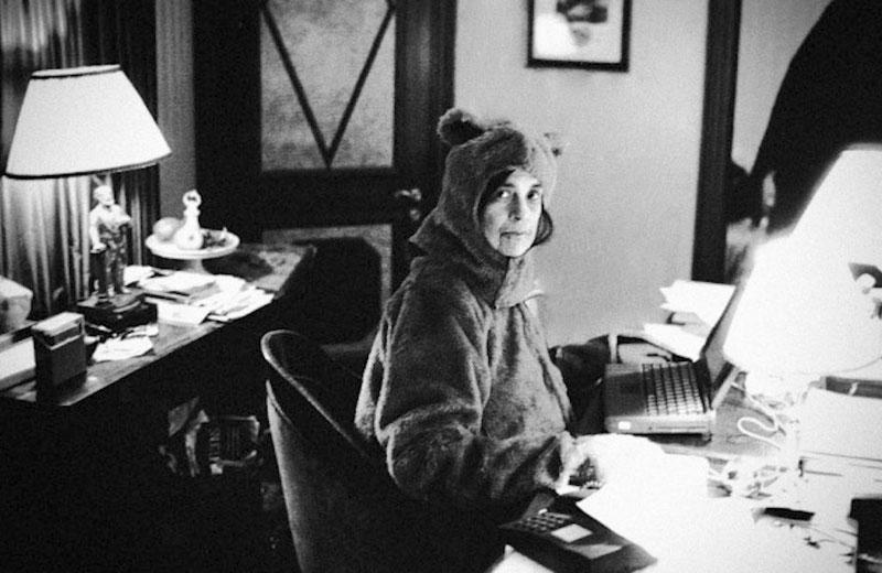 Susan Sontag. Fotografía: Annie Leibovitz
