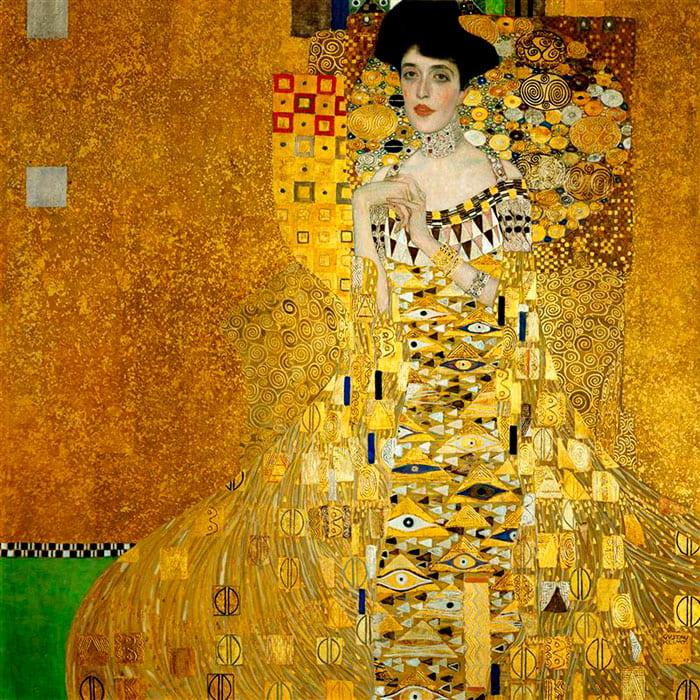 """""""Portrait of Adele Bloch-Bauer"""", Gustav Klimt"""