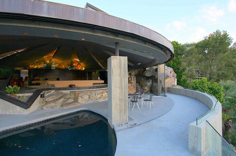 Elrod House en Palm Spring (California). Arquitecto John Lautner. © Fotografía The Redllist.