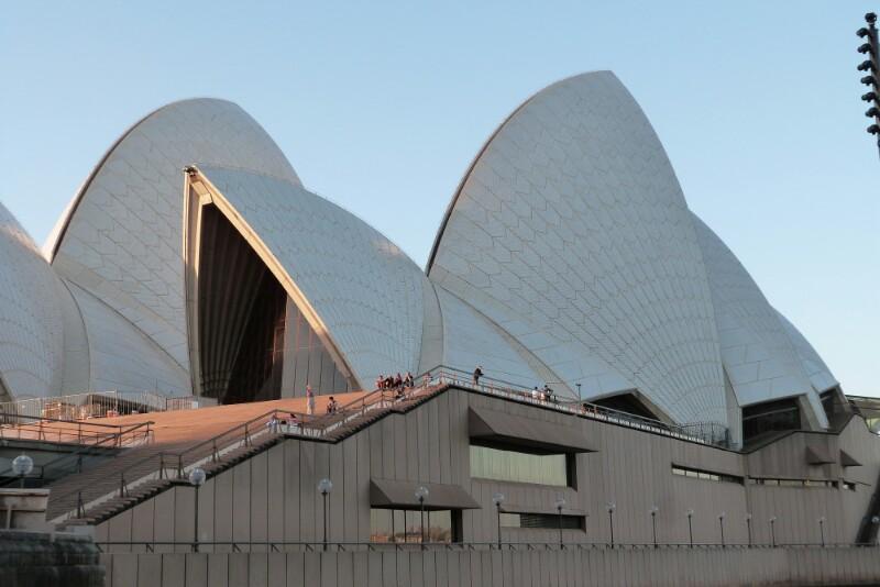 Ópera de Sídney (Australia). Arquitecto Jørn Utzon.