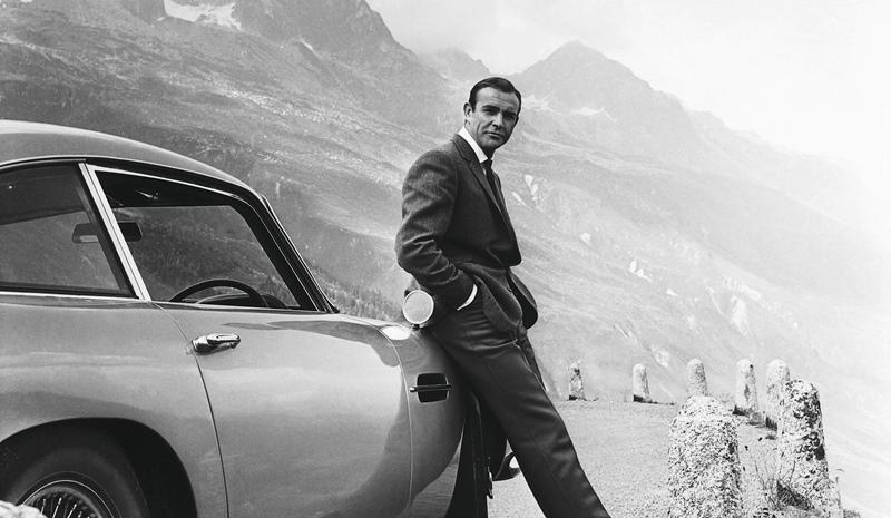 Sean Connery, agente 007 James Bond.