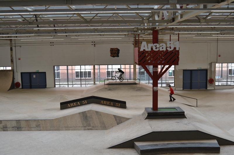 Área 51, Skatepark, Eindhoven. © Fotografías SJLL