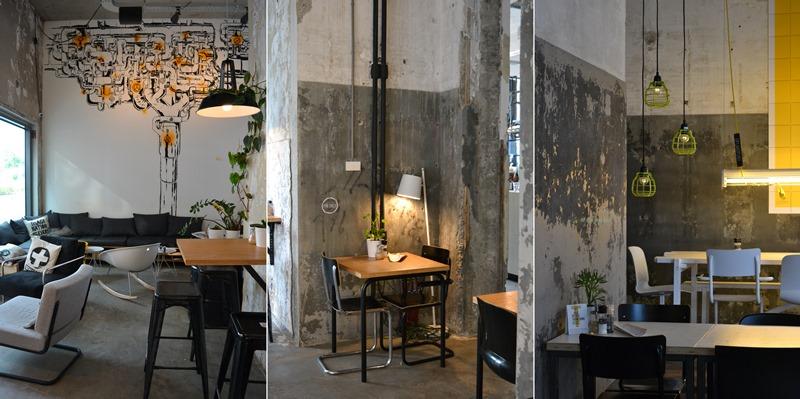 Onder de Leidingstraat café, barrio Strijp-S Eindhoven. © Fotografías SJLL.